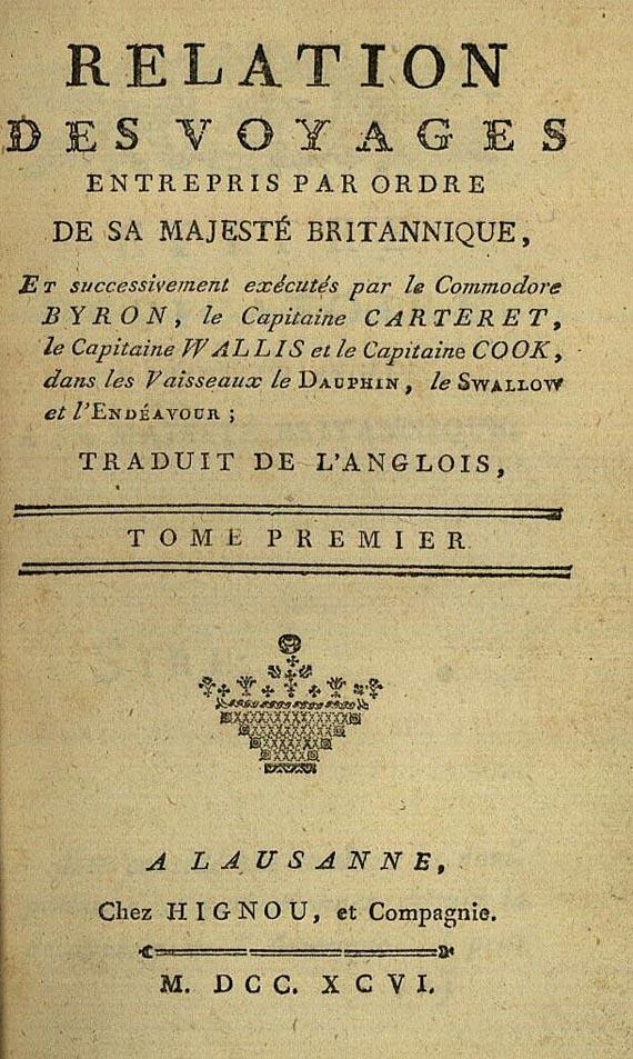 James Cook - Voyages autour du monde, 8 Bde. 1796