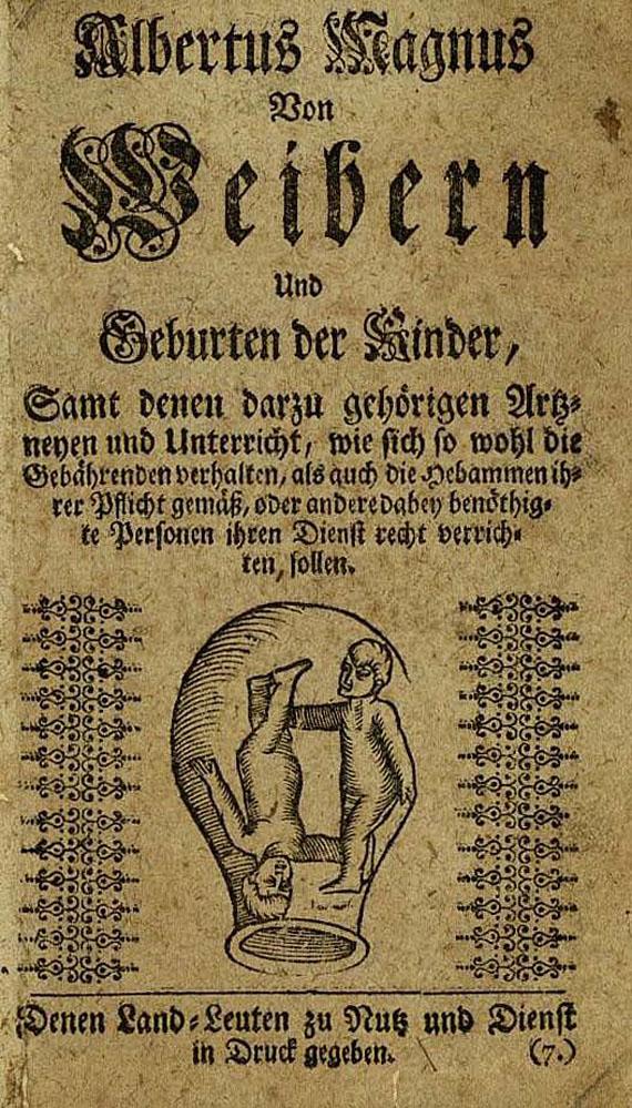 Albertus Magnus - Von Weibern