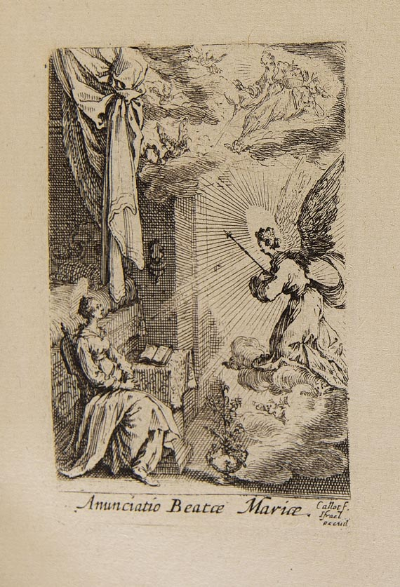 Jacques Callot - Vita et historia beatae Mariae. Martiryum Appostolo. 1632-35.