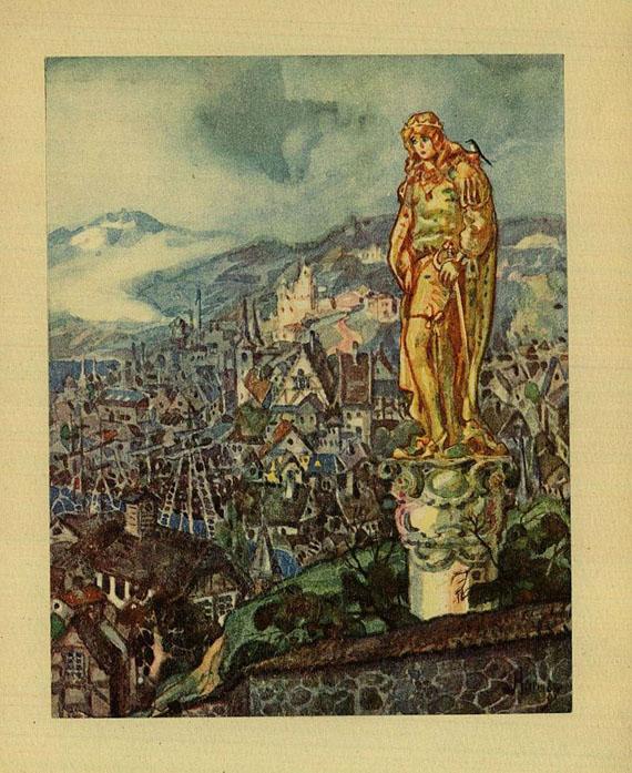Oscar Wilde - Drei Märchen, 1922.