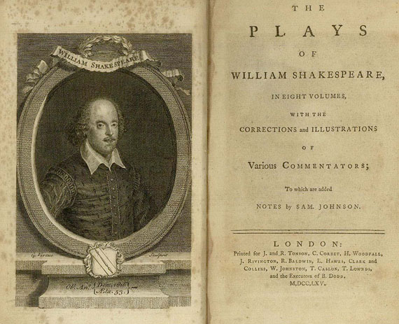 William Shakespeare - The Plays of..., 8 Bde. 1765. [142]