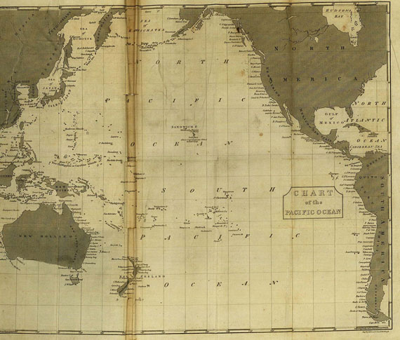 James Cook - Voyages round the world, 3 Bde. 1807. [74]