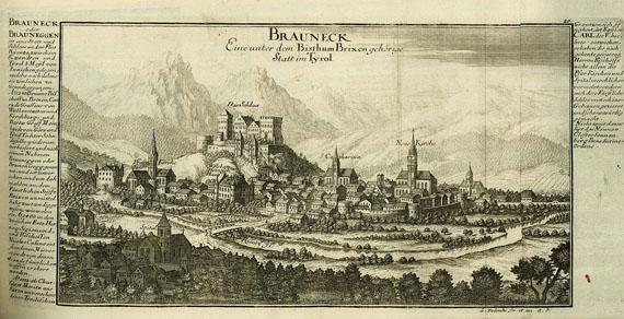 Gabriel Bodenehr - Europens Pracht und Macht. Um 1720.