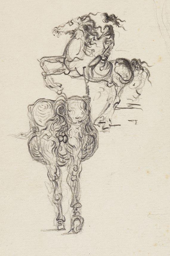 Salvador Dalí - Carnet de Dessins