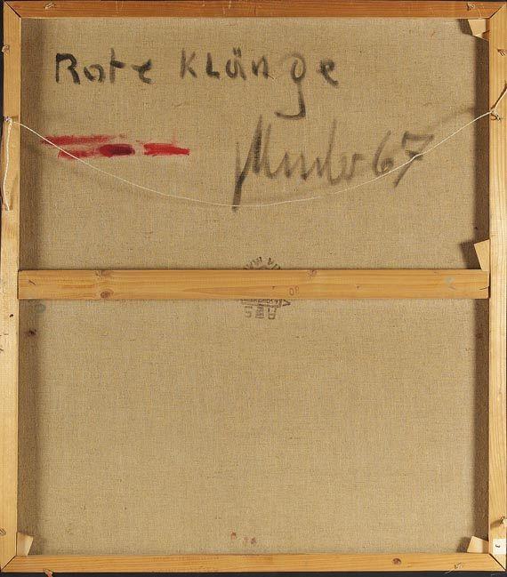 Fritz Winter - Rote Klänge - Weitere Abbildung