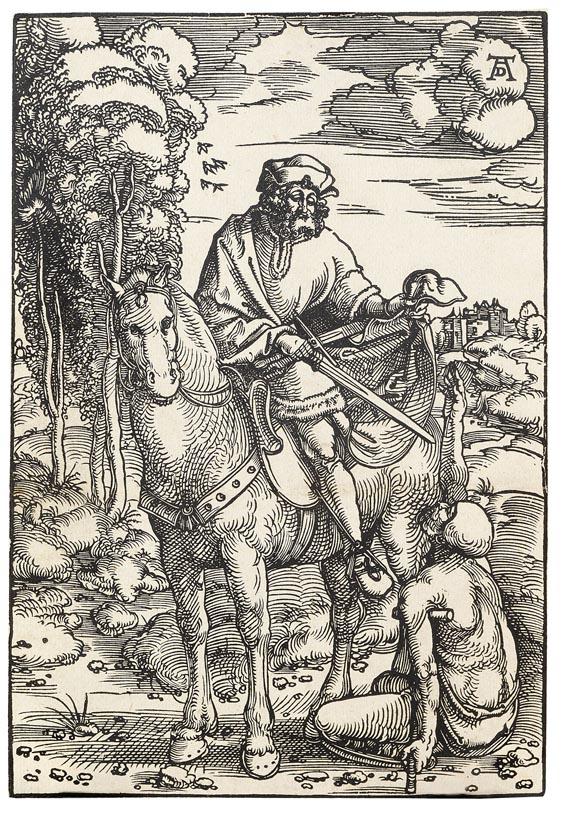 Hans Baldung gen. Grien - Der Heilige Martin zu Pferde