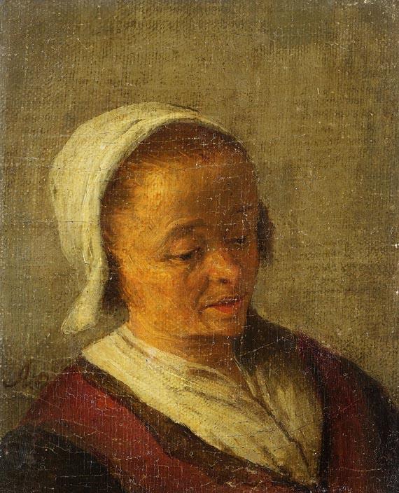 Adriaen van Ostade - Bildnis einer Bäuerin
