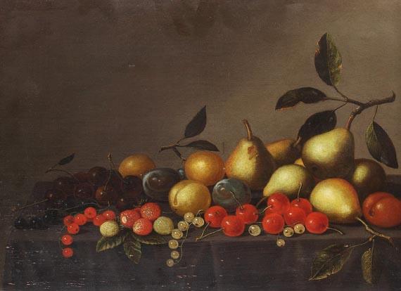 Deutschland - Früchtestillleben