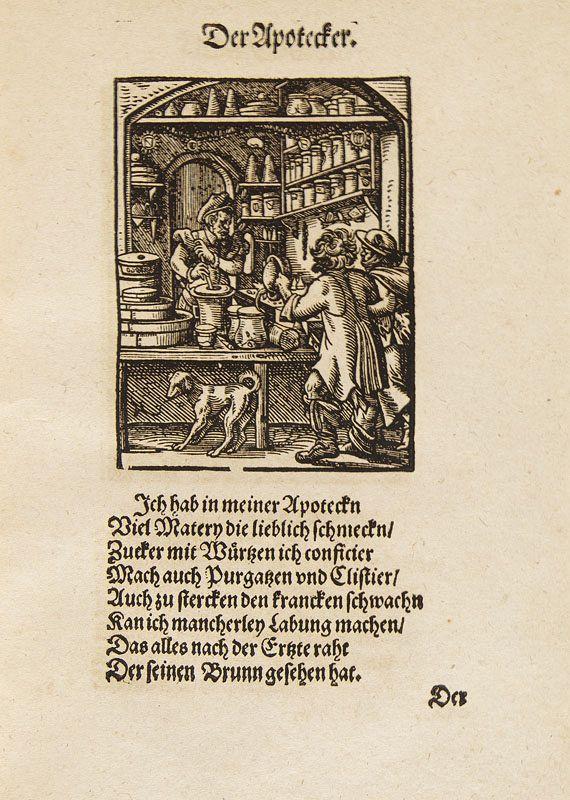 Hans Sachs - Beschreibung aller Stände. 1574.