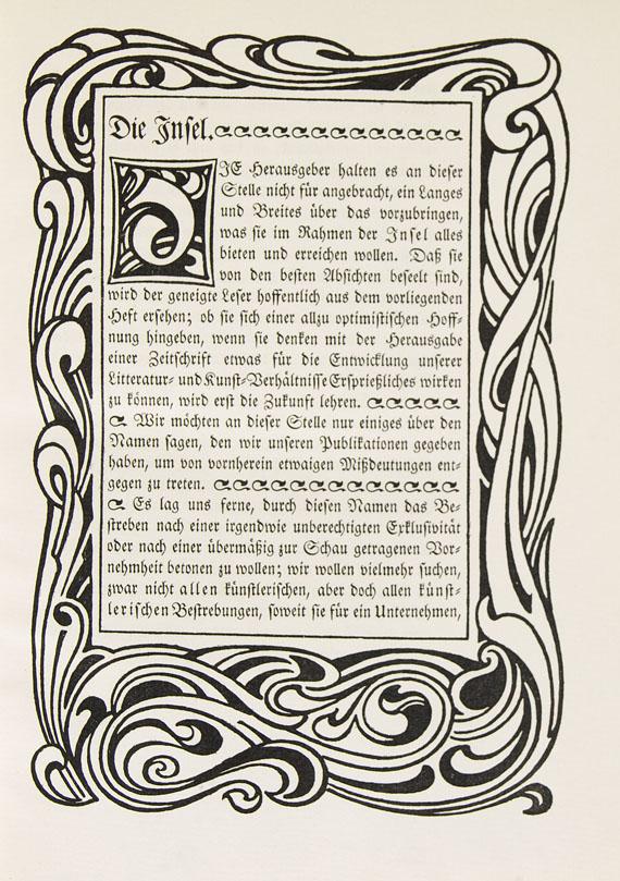Insel, Die - Die Insel. 1899.