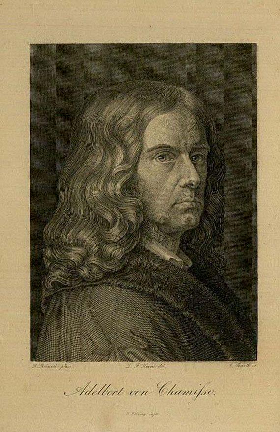Albert de Chamisso - Werke, 6 Bde. 1836-39. [96]