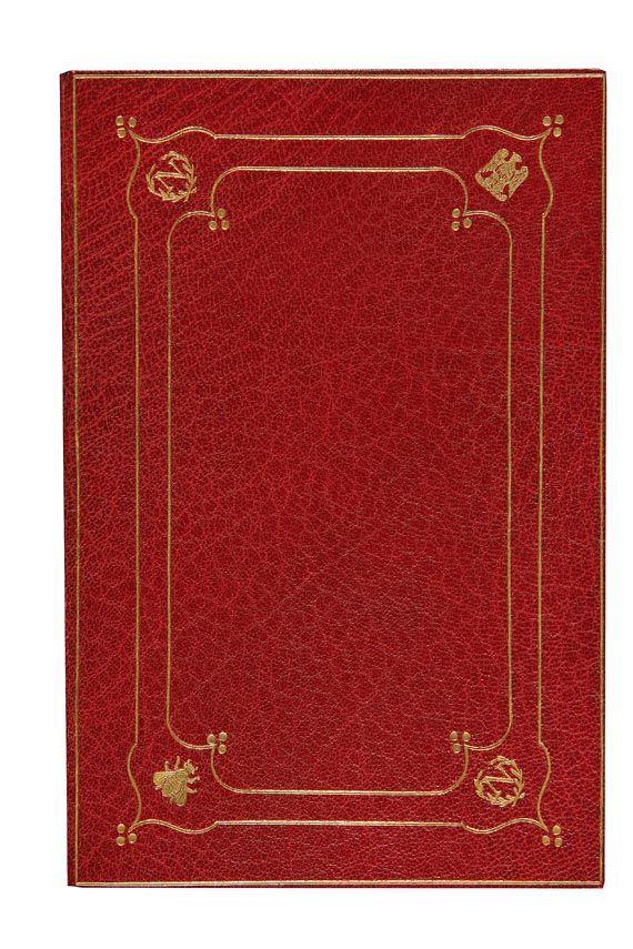 Einbände - Proclamation de Napoléon, 1814.