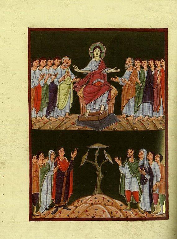 Faksimile - Evangeliar Ottos III. CLM 4453, 1978 Faksimile- und Kommentarbd.