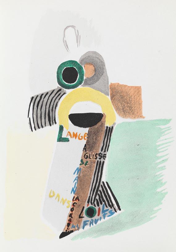 Sonia Delaunay-Terk - J. Damase, Robes Poèmes. 1969.