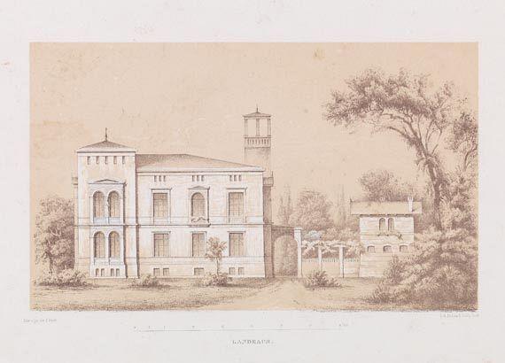 August Fricke - Wohngebäude. -