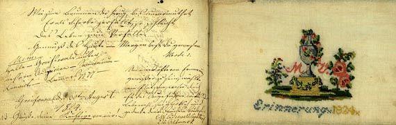 Album amicorum - Stammbuch Stargard. 1820.