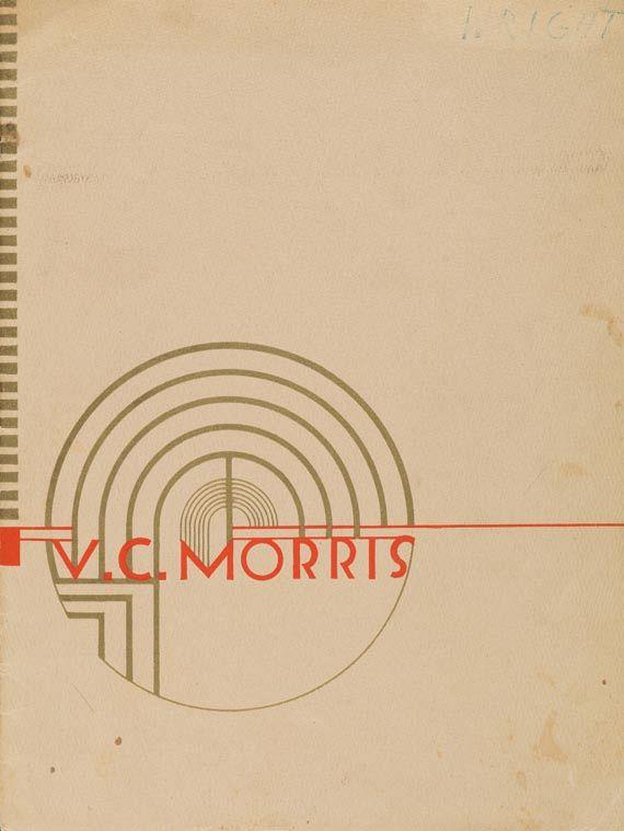 Frank Lloyd Wright - V. C. Morris. 1950