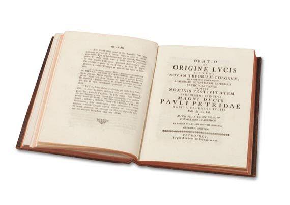 Michail Wassiljewitsch Lomonossow - Opera Academica. 1751-61.