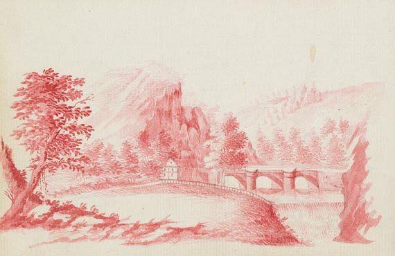 Album amicorum - Stammbuch Sachsen, 1791.