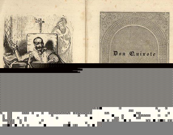 Miguel de Cervantes Saavedra - Don Quixote. 2 Bde. 1837-38