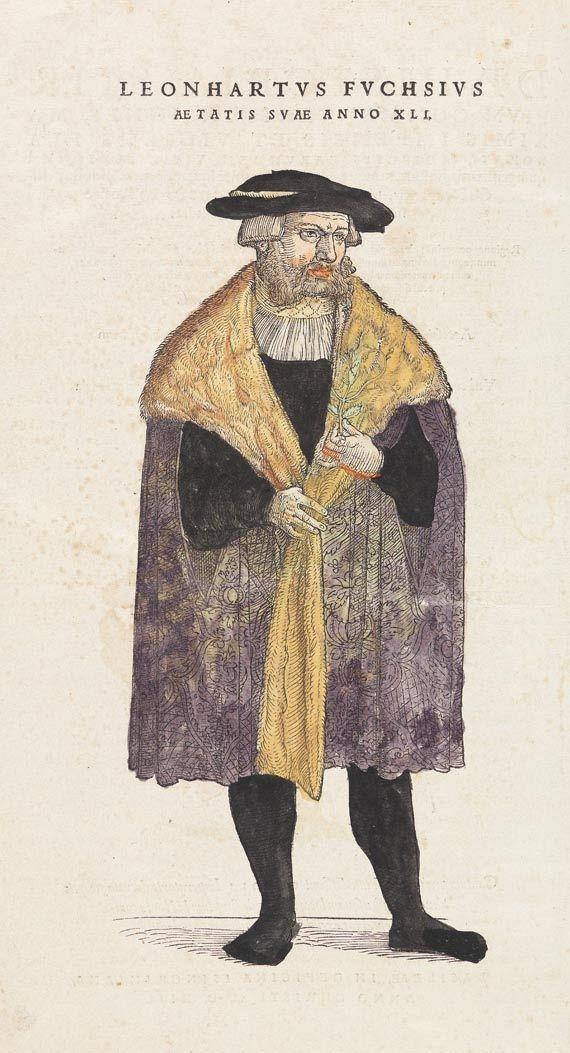 Leonhart Fuchs - De Historia stirpium. 1542.