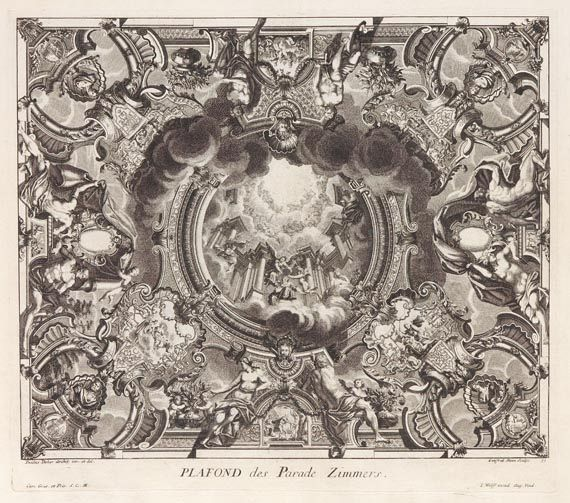 Paulus Decker - Fürstlicher Baumeister. 1711. -