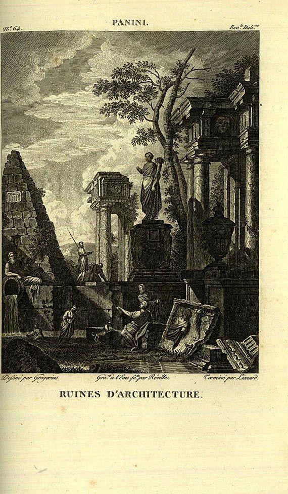 A. Filhol - Galerie du Musee de France. 10 Bde., 1804-1815.