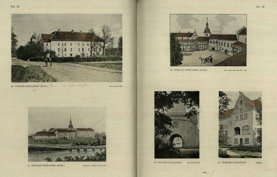 Heinz Pirang - Baltische Herrenhaus. 1926