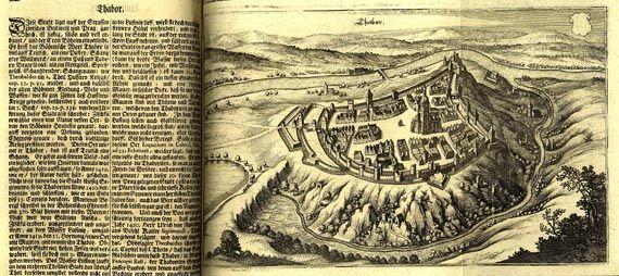 Matthäus (der Ältere) Merian - Topographia Bohemiae., 1650, Merian.