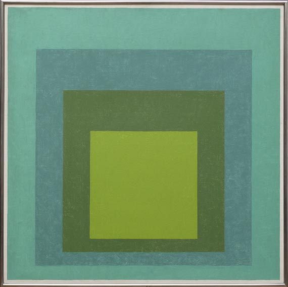 Josef Albers - Study for Homage to the Square: High Pasture