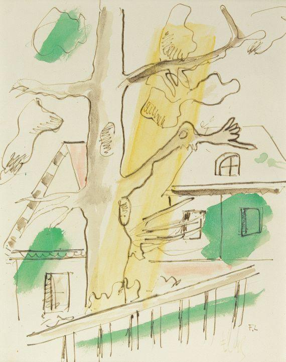 Fernand Léger - Composition à l'arbre