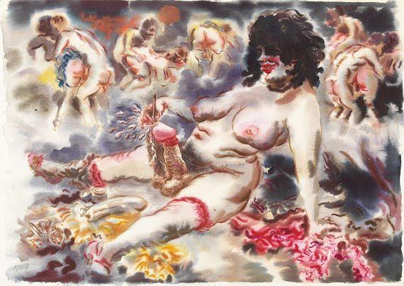 Grosz - Erotische Szene