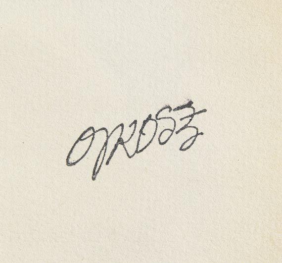 George Grosz - Erotische Szene - Weitere Abbildung
