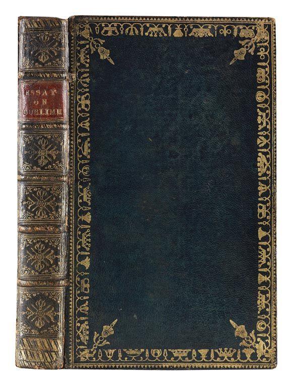 Edmund Burke - Philosophical enquiry. 1773.