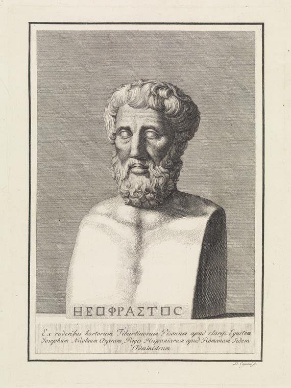 Giambattista Bodoni - Theophrastus von Eresos, Characterum ethicorum 1786.