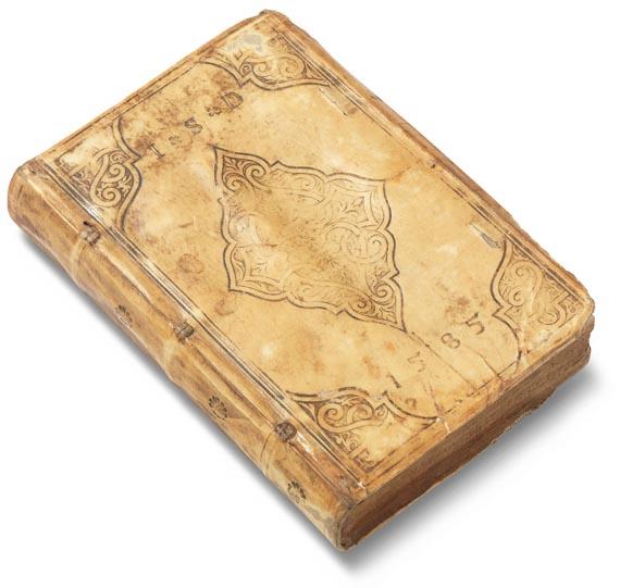 Album amicorum - Stammbuch des Johann Speimann. 1585.