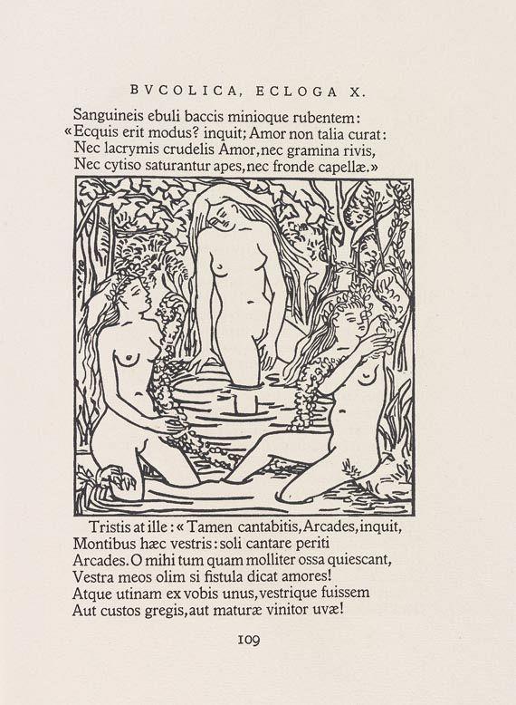 Lucile Passavant - Les Bucoliques. 1951 -
