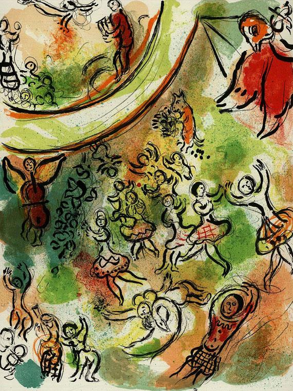 Marc Chagall - 3 Werke.