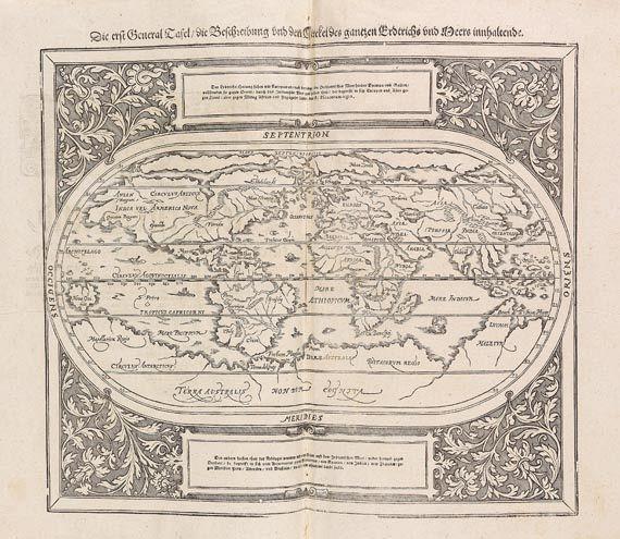 Sebastian Münster - Cosmographia, 1628.