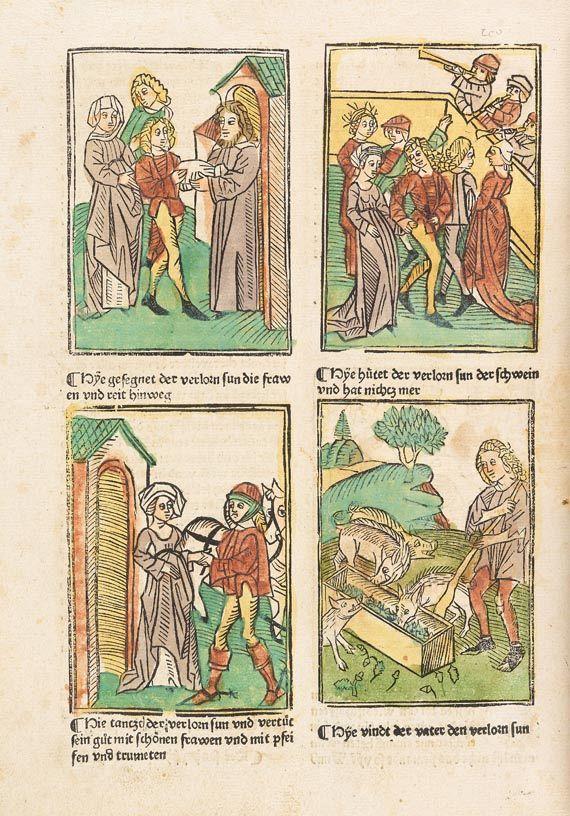 - Speculum humanae salvationis, 1489.