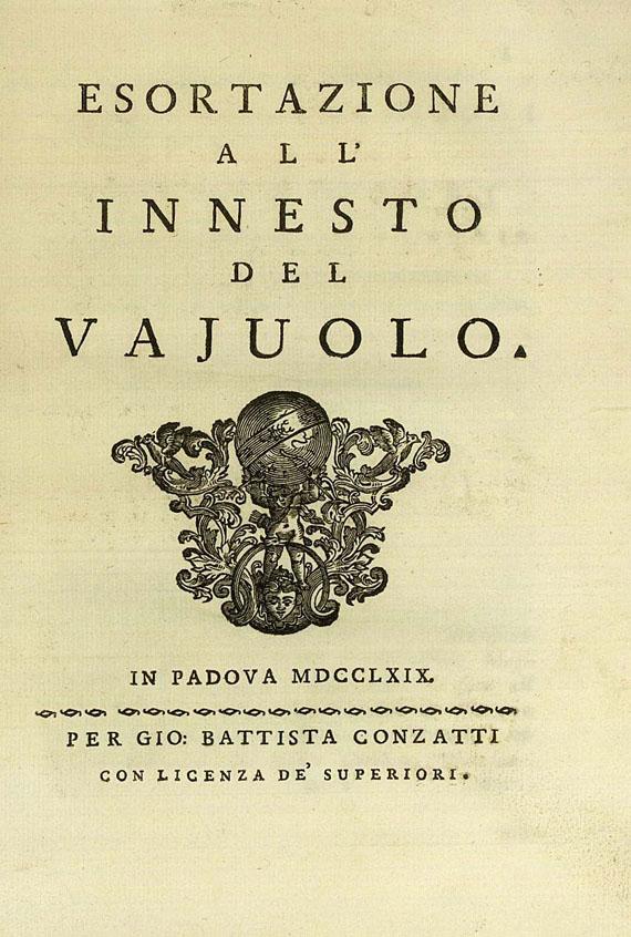 G. della Bona - Bona, Esortazione 1769. 2 Beig.