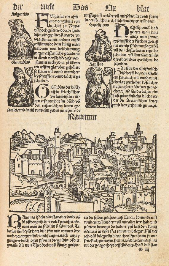 Hartmann Schedel - Buch der Croniken. 1500.
