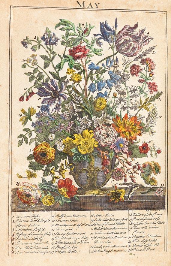 R. Furber - Flower-Garden 1734