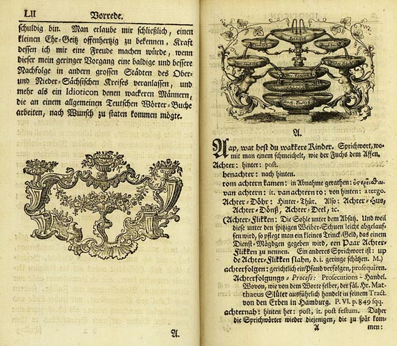 Michael Richey - Idioticon Hamburgense, 1755