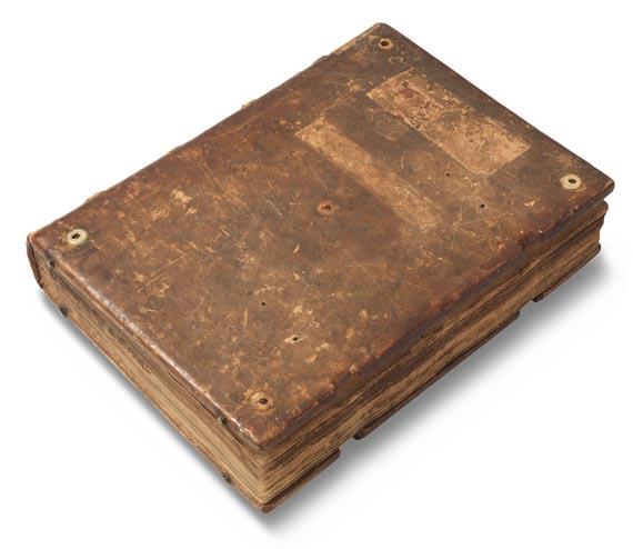 Manuskripte - Opus imperfectum in Matthaeum. Lat. Handschrift auf Papier. Um 1470.