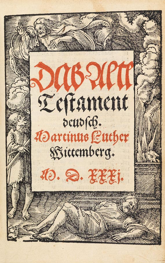 Biblia germanica - Luther, M., Altes Testament. 1531