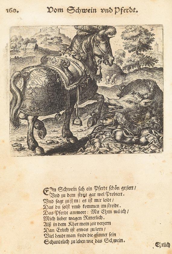 Emblemata - Fabeln, Kupfer von Sadeler 1609