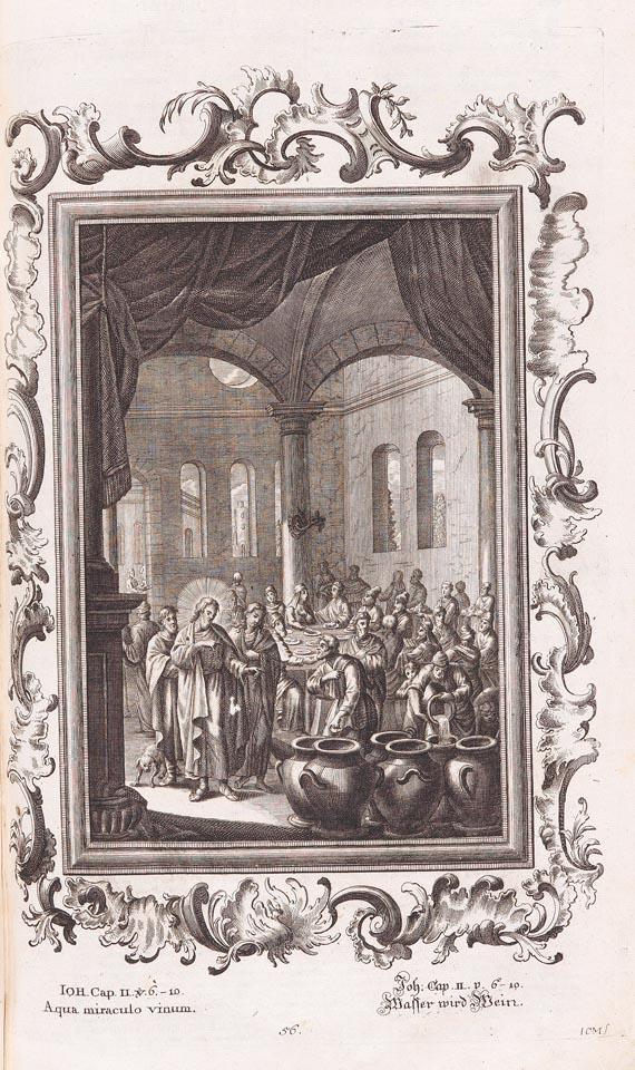 Biblia latina - Biblia sacra, 4 Bde., Konstanz 1770
