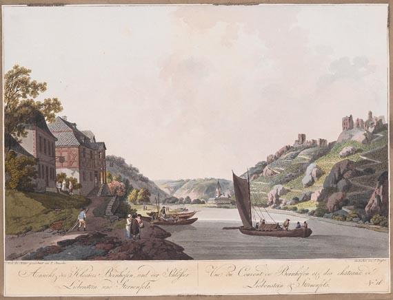 Rhein - 13 Bll. Ansichten vom Rhein.