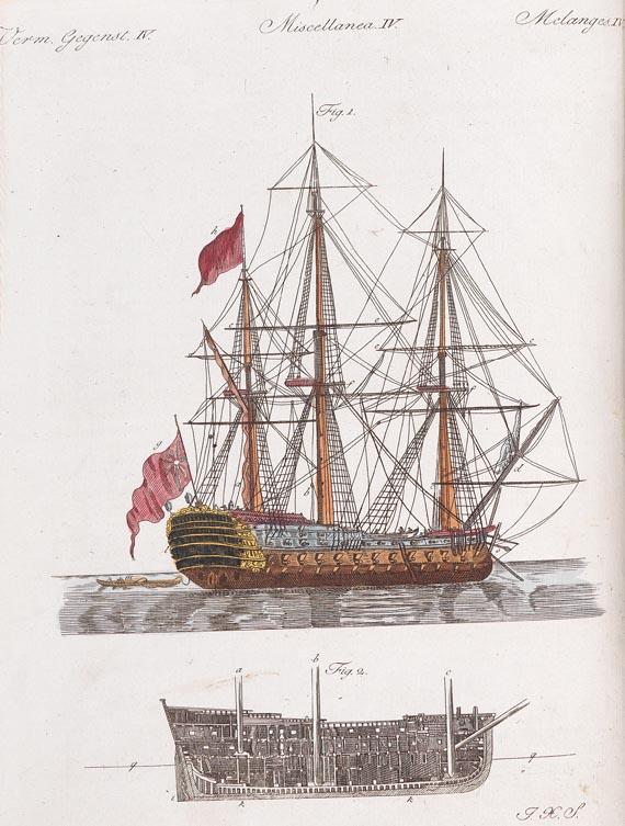 Friedrich Johann Justin Bertuch - Bertuchs Bilderbuch 10 Bde. 1801.